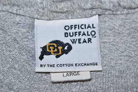 90s Colorado Buffaloes CU University College t-shirt Large