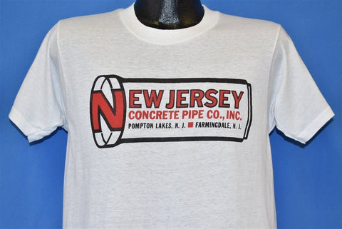 70s New Jersey Concrete Pipe t-shirt Medium