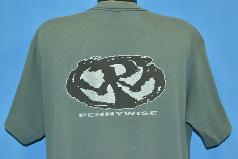 90s Pennywise Full Circle Album Cover Punk Rock t-shirt Extra Large