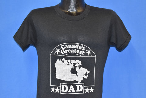 70s Canada's Greatest Dad t-shirt Small