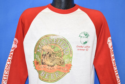80s Moosehead Beer Grab a Moose Get Loose Iron On t-shirt Large
