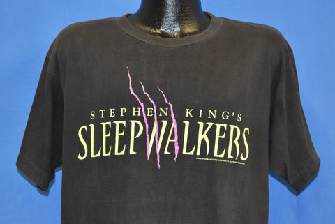 90s Stephen King Sleepwalkers Distressed t-shirt Extra Large