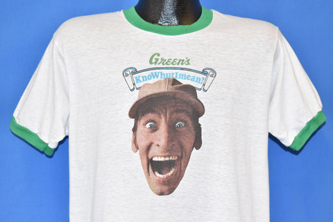80s Earnest P Worrell Green's Ice Cream t-shirt Large