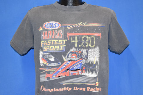 80s Distressed NHRA Drag Racing America t-shirt Large