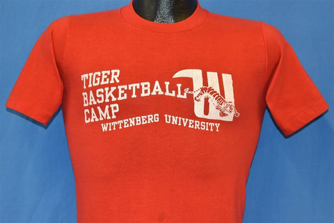 80s Wittenberg Tigers Basketball t-shirt Extra Small