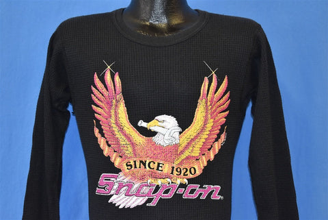 80s Snap On Tools Thermal t-shirt Small
