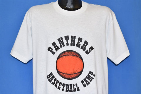 90s Panthers Basketball Camp t-shirt Large