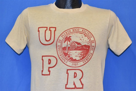 80s University Puerto Rico UPR College t-shirt Small