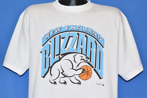 90s New England Blizzard Women's Basketball t-shirt Large