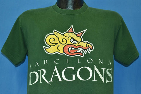 90s Barcelona Dragons World League Football t-shirt Medium