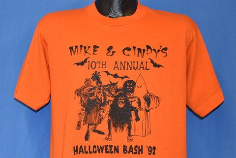 90s Halloween Bash Monsters t-shirt Large