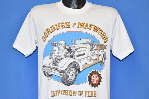 90s Maywood Borough Fire Engine t-shirt Medium