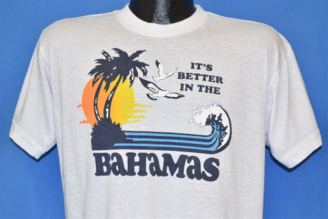 80s It's Better in the Bahamas t-shirt Large