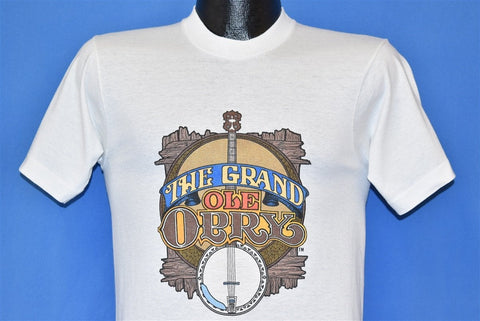 90s Grand Ole Opry Banjo Nashville Tennessee t-shirt Small