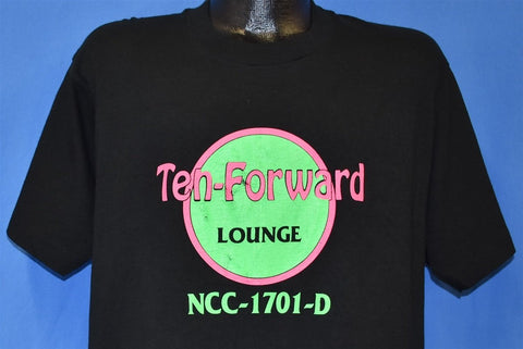 90s Star Trek Ten Forward Lounge Hard Rock Spoof t-shirt Large