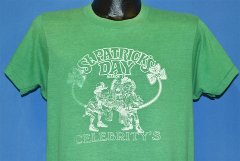 80s St. Patrick's Day Shamrock t-shirt Large