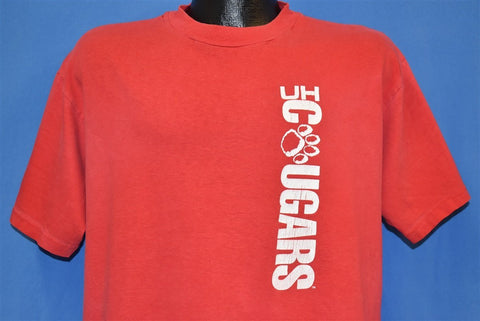 90s Houston Cougers University t-shirt Extra Large
