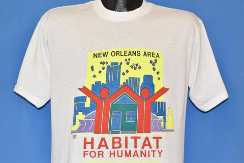90s Habitat for Humanity New Orleans t-shirt Large