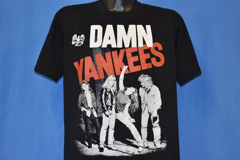 90s Damn Yankees 1990 Tour Rock Concert t-shirt Large