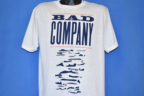 90s Bad Company 1990 Holy Water World Tour t-shirt Large