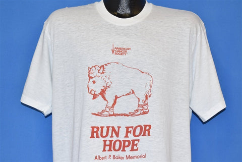 80s American Cancer Society t-shirt Extra Large