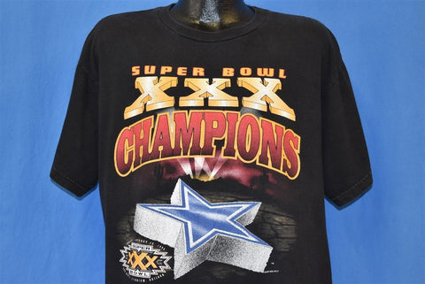 90s Dallas Cowboys Super Bowl XXX NFL t-shirt Large