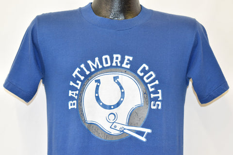70s Baltimore Colts AFL NFL Helen Football t-shirt Small