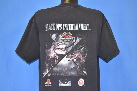 90s Jurassic Park Warpath Video Game t-shirt Extra Large