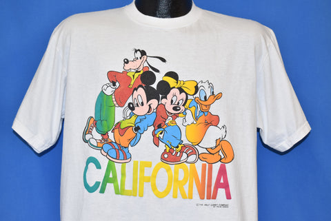 80s Disney California Mickey Mouse and Friends t-shirt Large