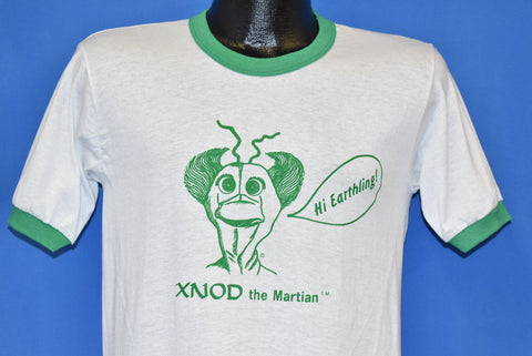 80s Xnod the Martian Hi Earthling Ringer t-shirt Small