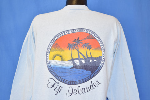 80s Fiji Islander USC Sunset Pocket Tee LS t-shirt Large