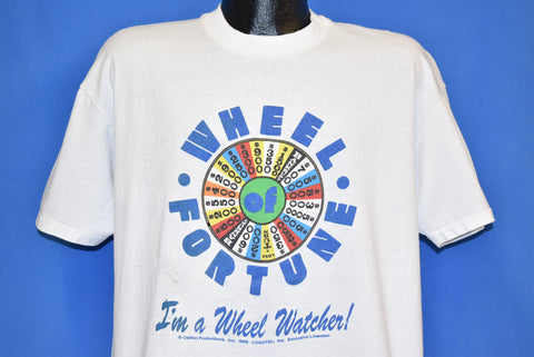 80s Wheel of Fortune Watcher Distressed t-shirt Extra Large