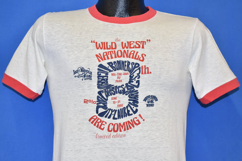 70s Wild West Nationals Rocky Mountain Vans t-shirt Small