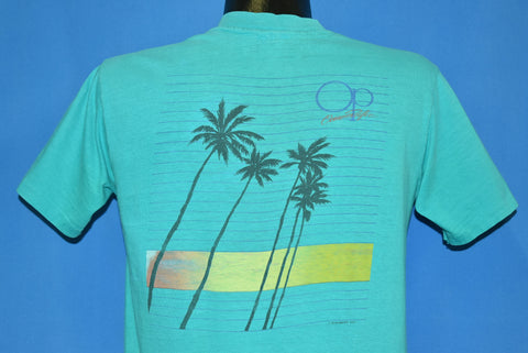 80s Ocean Pacific Surf OP Sunset Palm Trees t-shirt Medium