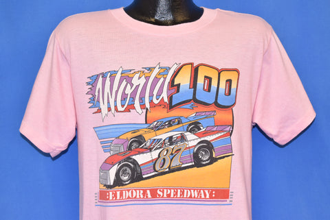 80s World 100 Eldora Speedway Ohio Dirt Racing t-shirt Medium