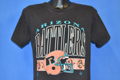 90s Arizona Rattlers Indoor Football Helmet t-shirt Medium