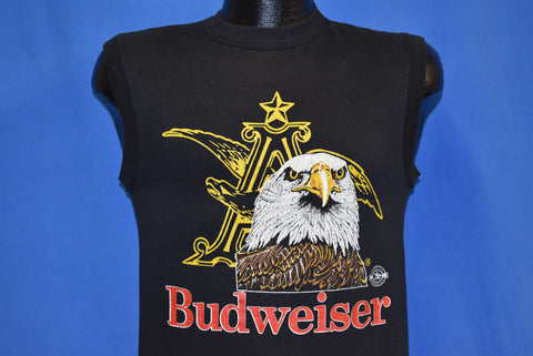 80s Budweiser Beer Bald Eagle Muscle Tee t-shirt Small