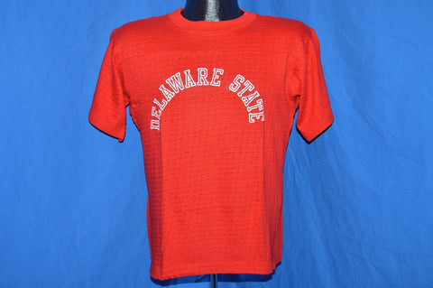 80s Delaware State University DSU Mesh t-shirt Medium