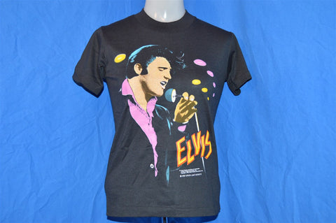 80s NEW Elvis Presley Portrait t-shirt Youth Medium
