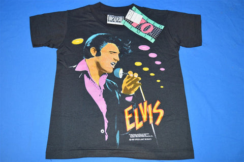 80s NEW Elvis Presley Portrait t-shirt Youth Small
