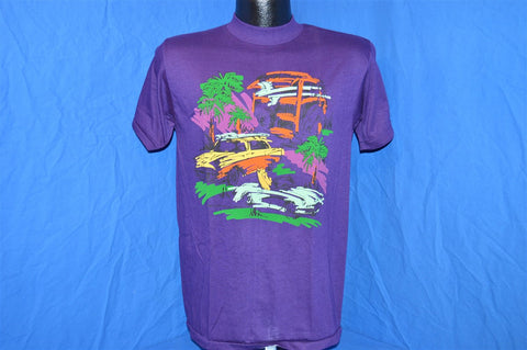 80s NEW Everybody's Surfing Now Abstract t-shirt Small