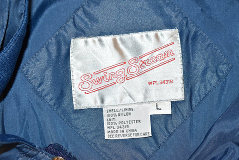 80s Camel Cigarettes Supercross Nylon Jacket Large