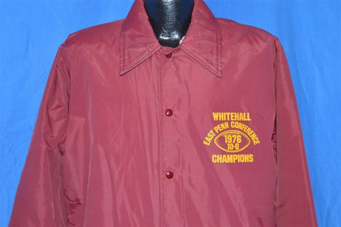70s Whitehall Football 1976 Champs Jacket Large