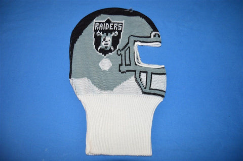 80s Oakland Raiders Helmet Ski Mask Winter Hat