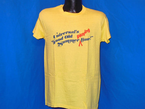 "70s Universal Studios ""Good Old Summer Playing Time"" t-shirt Large"