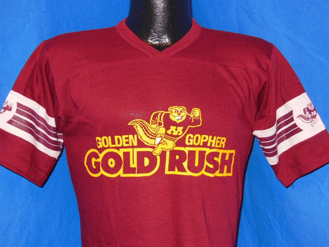 70s University of Minnesota Golden Gophers Jersey Style t-shirt Small