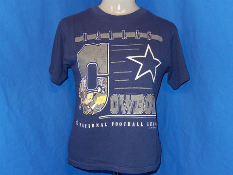 80s Dallas Cowboys Jack Davis Cartoon t-shirt Youth Medium