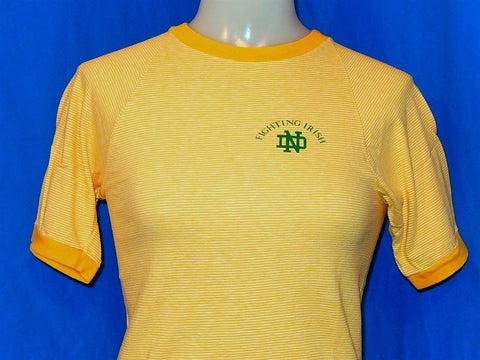 70s Notre Dame Fighting Irish Striped t-shirt Youth Medium