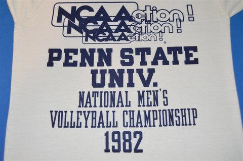 1982 Penn State U. National Men's Volleyball Championship Ringer t-shirt Small
