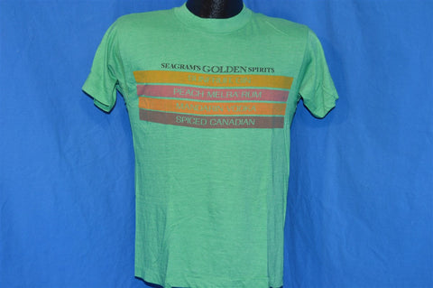 80s Seagrams Golden Spirits t-shirt Small